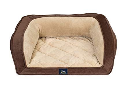 Serta Ortho Quilted Couch Pet Bed https