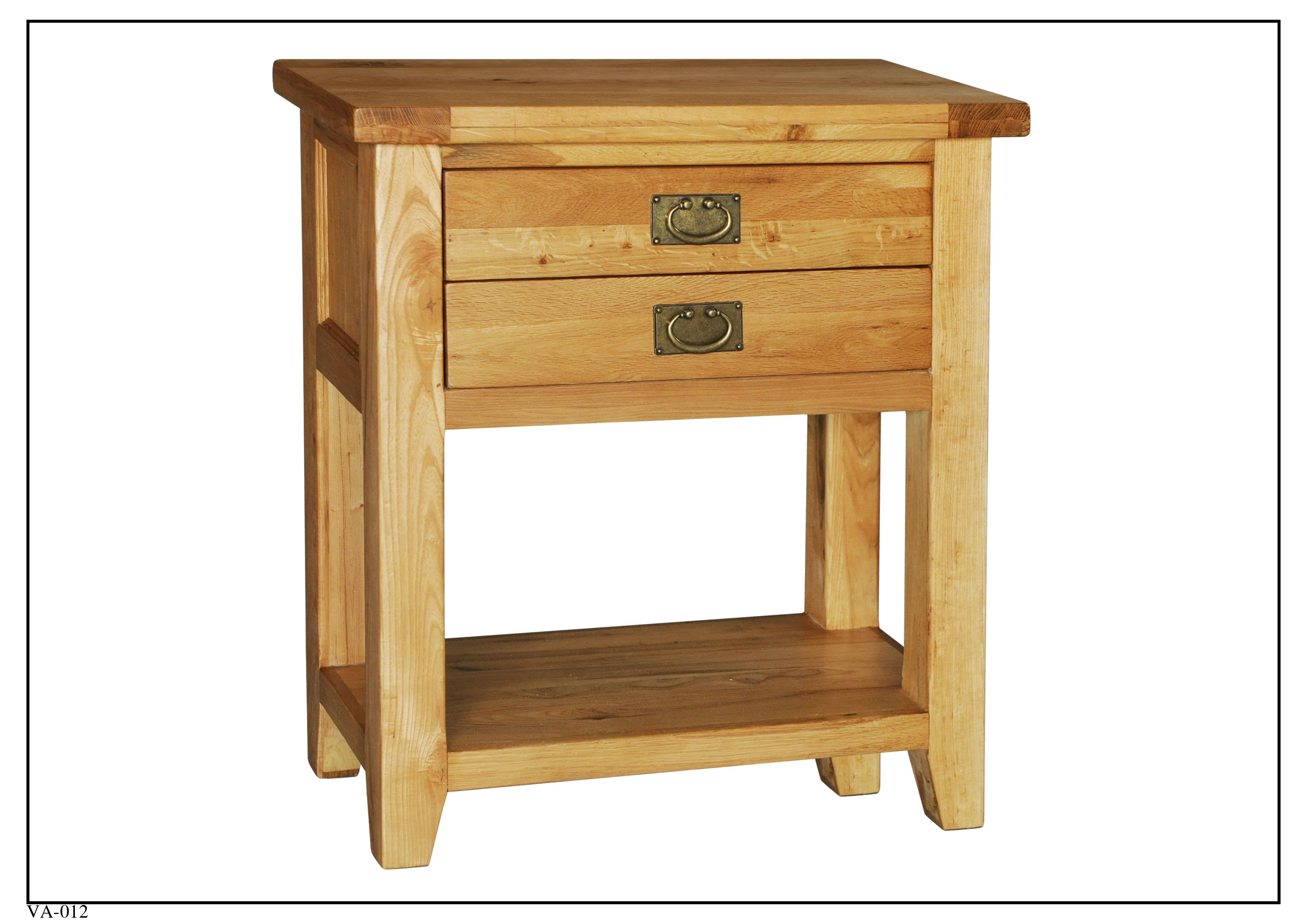 VA012 Small Console Table 750mm x 370mm x 860mm High Vancouver