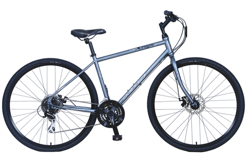 Khs Urban Xcape Disc 2017 Matte Gray Giant Bicycle Urban