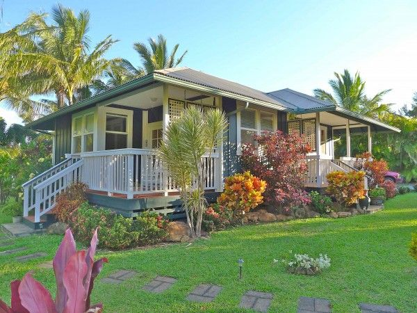 Tropical plantation style home plans house design plans for Hawaiian plantation home plans