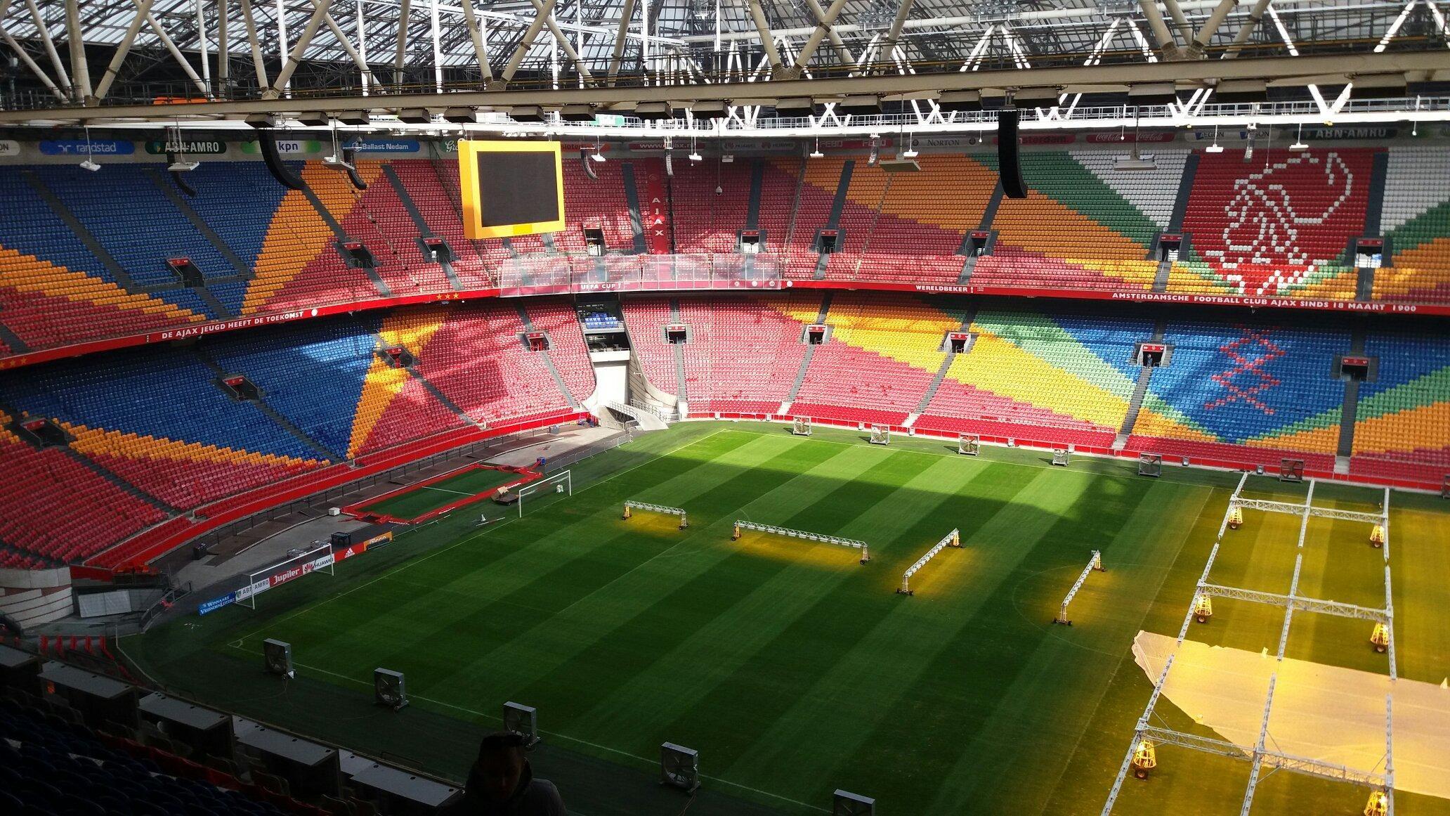 Amsterdam Arena Football Stadium Amsterdam The Netherlands