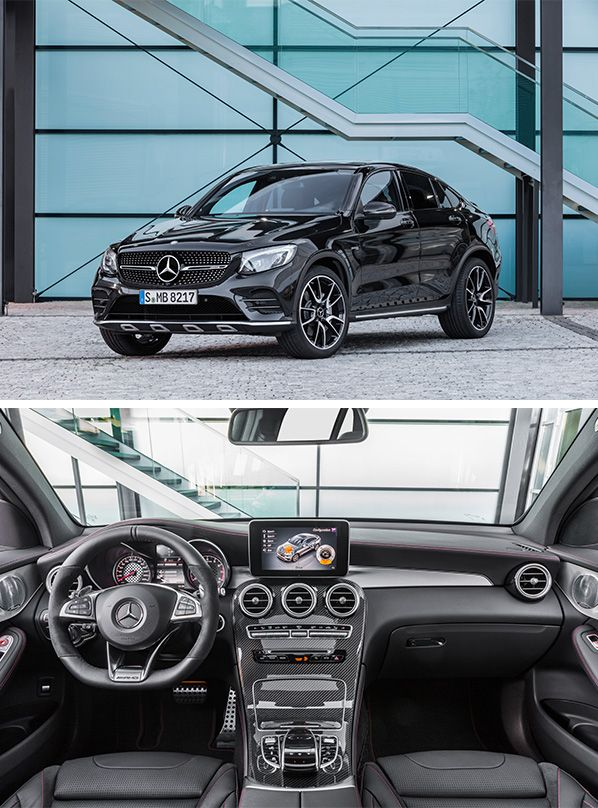 The New Mercedes Amg Glc 43 4matic Coupe Mercedes Amg New