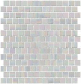 inch mother of pearl white iridescent glass tile reset in offset layout also