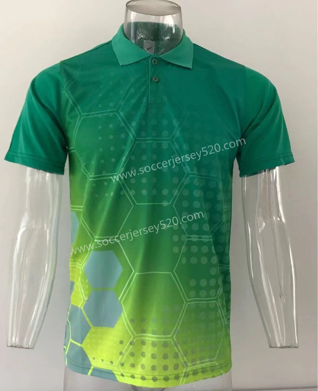 Thailand Polo Shirt Without Logo Green Top 5 Cheap Soccer Jerseys