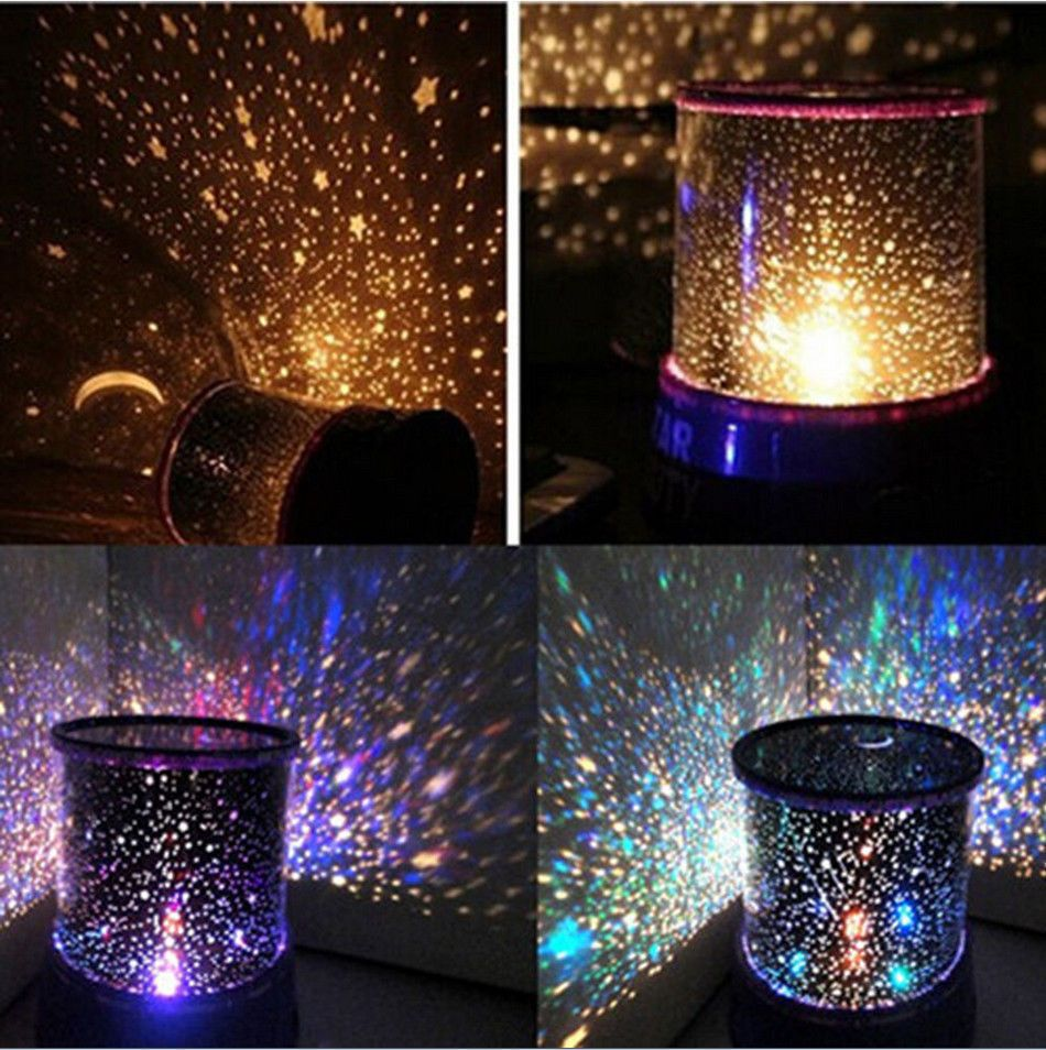 Star projector lamp night - Romantic Led Starry Night Sky Projector Lamp Kids Gift Star Light Cosmos Master