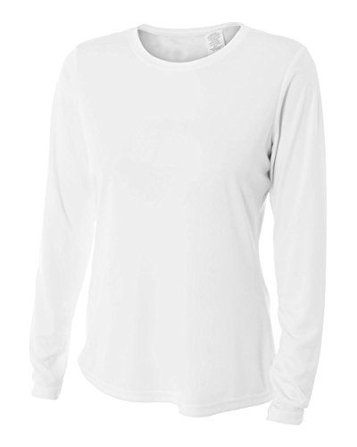 7133300e Women's UPF 30 Performance Long Sleeve T-shirt with Sun Protection ...