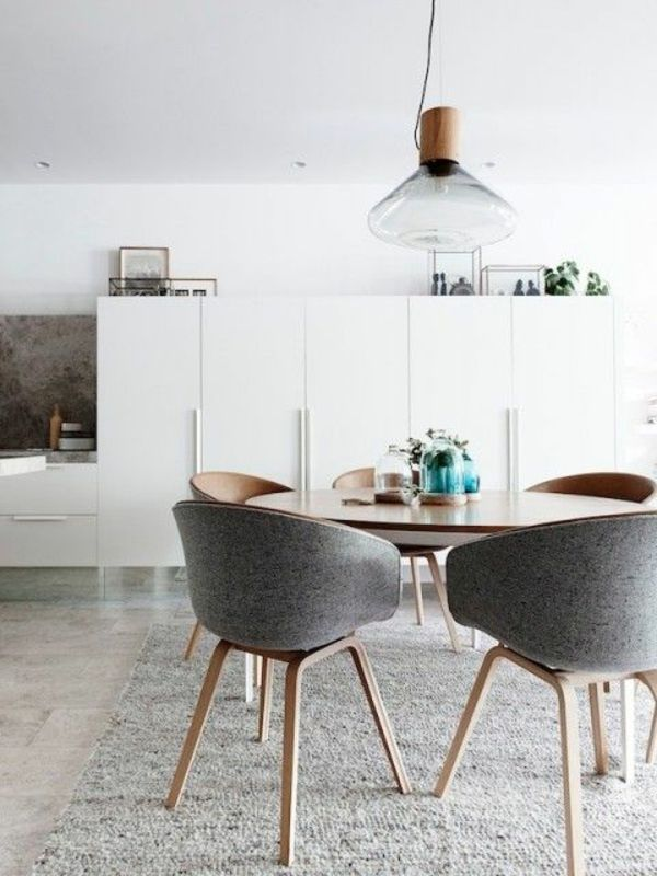 Scandinavian Dining Table Nz White Saddle Mixed Light Brown Wooden Artsitic Pendant Lamp Large Square Rustic