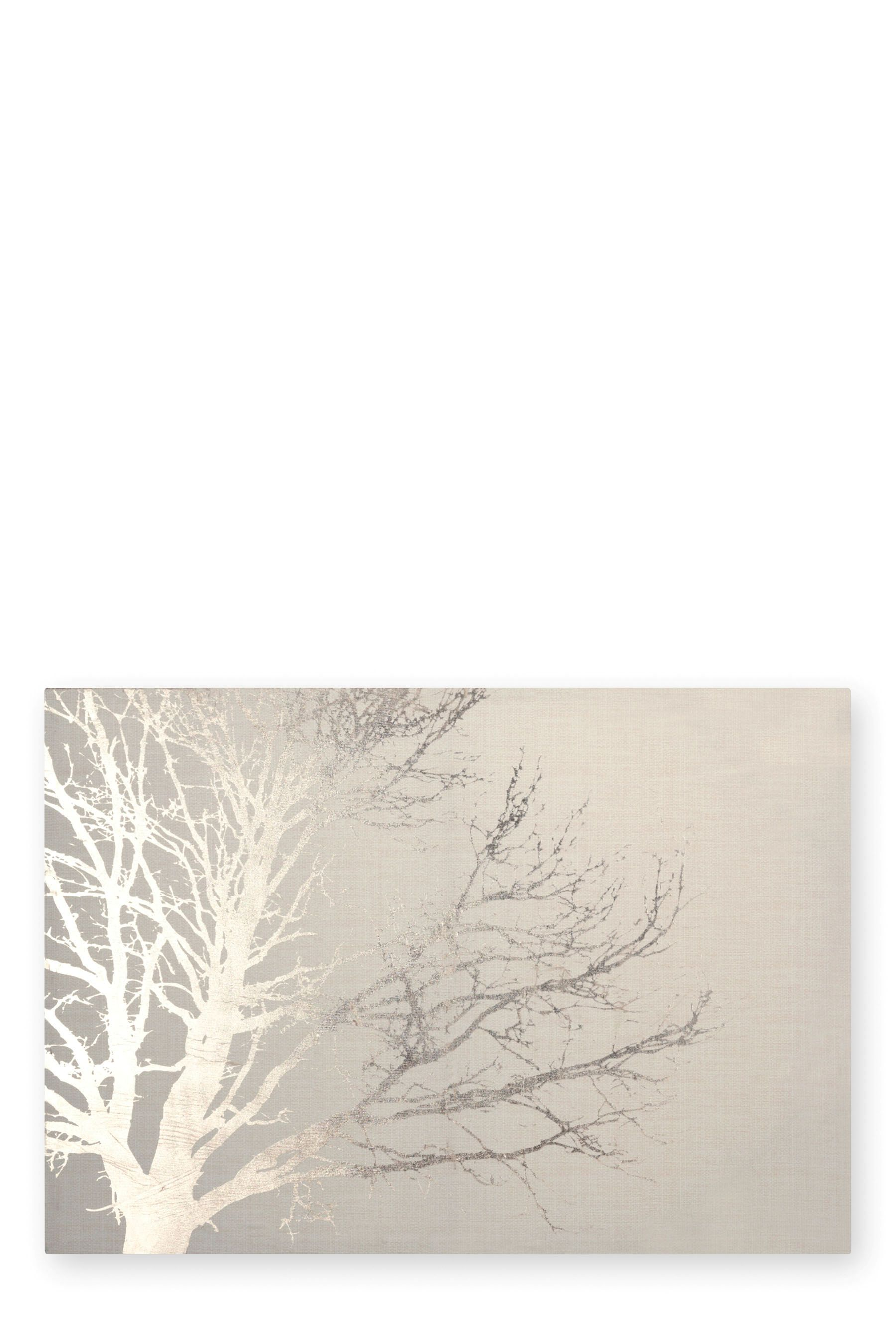 Metallic tree canvas for guest room trees pinterest tree