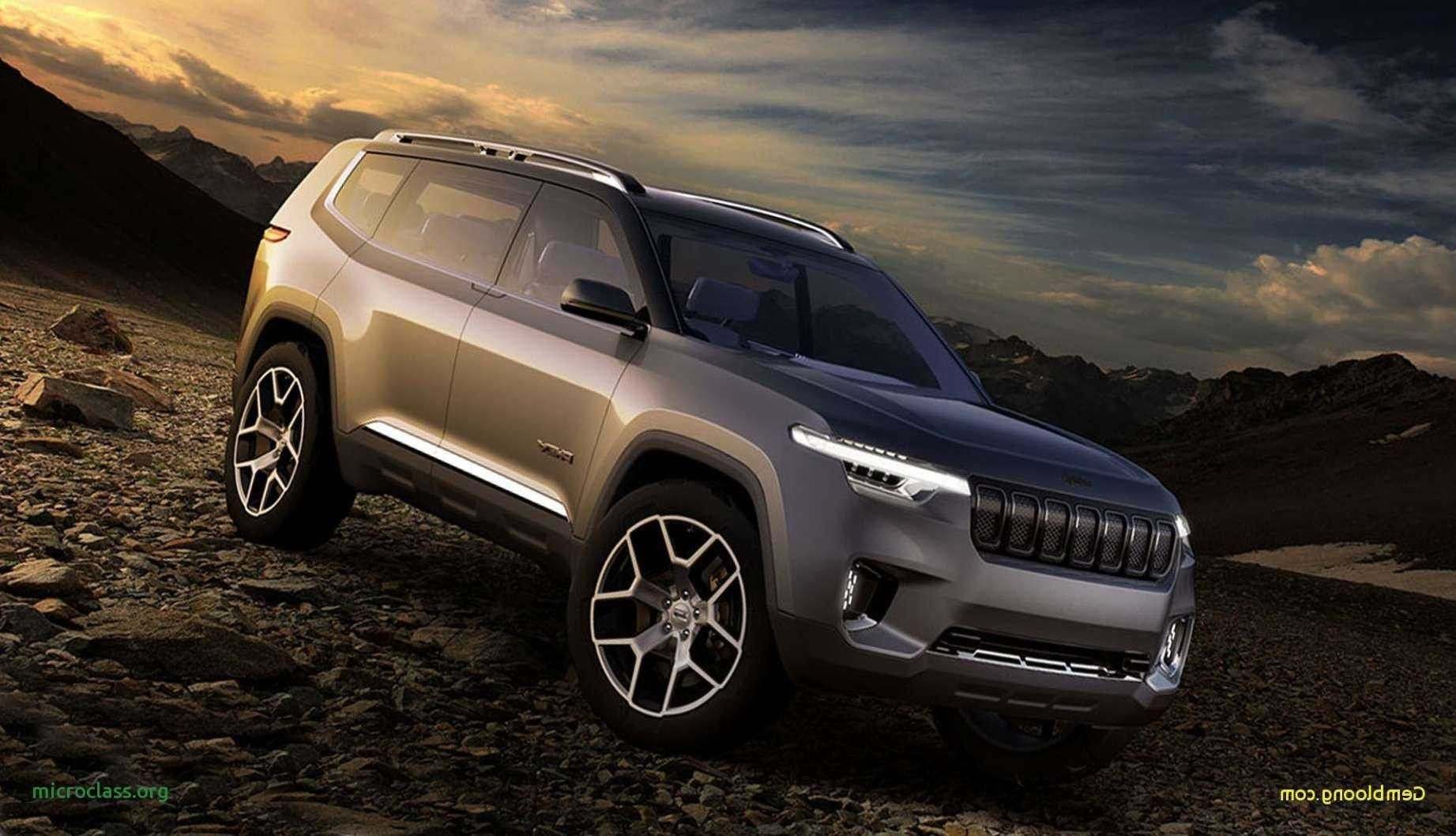 New 2020 Grand Cherokee Srt Concept Jeep Grand Cherokee Jeep