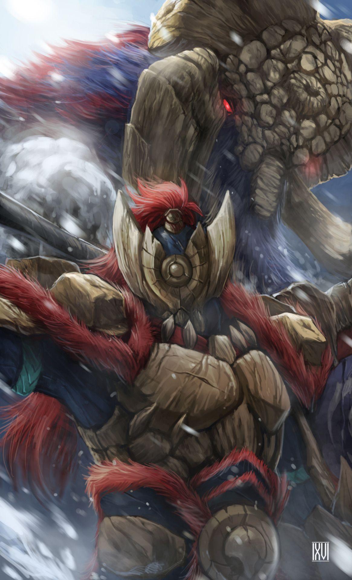4 Fated Four Monster Hunter Series Monster Hunter World Wallpaper
