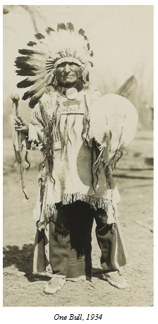 Photo of Indian histories, photos, etc told by warriors living in the 1800's to Col. A. B. Welch   Welch Dakotah Papers