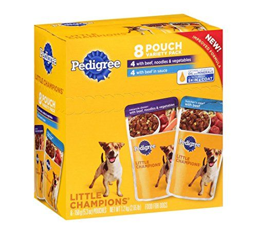 Pedigree Little Champions Casserole And Stew Dinners Dog Food 8