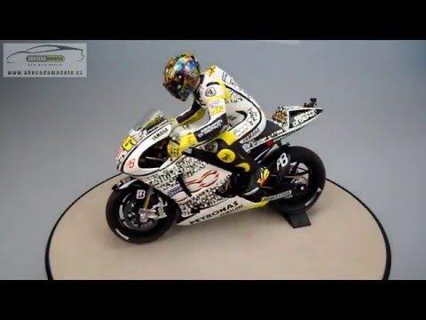 Yamaha Yzr M1 Motogp 2010 Laguna Seca Figurka V Rossi Minichamps 1 12