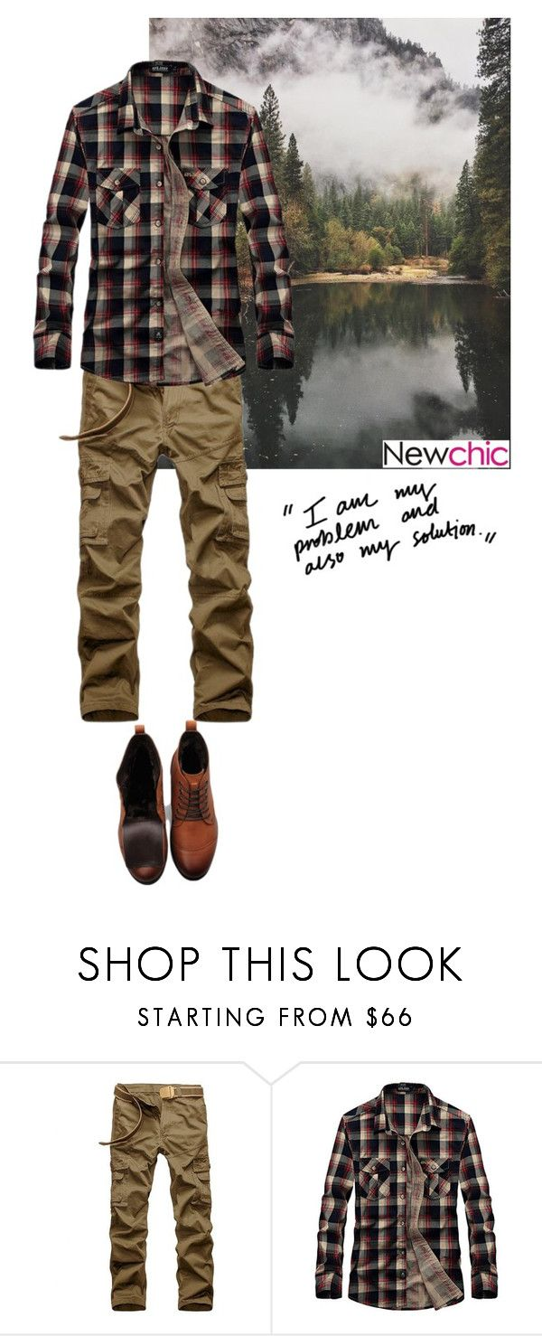 """NEWCHIC Man's fashion 2"" by matea0605 ❤ liked on Polyvore featuring men's fashion and menswear"