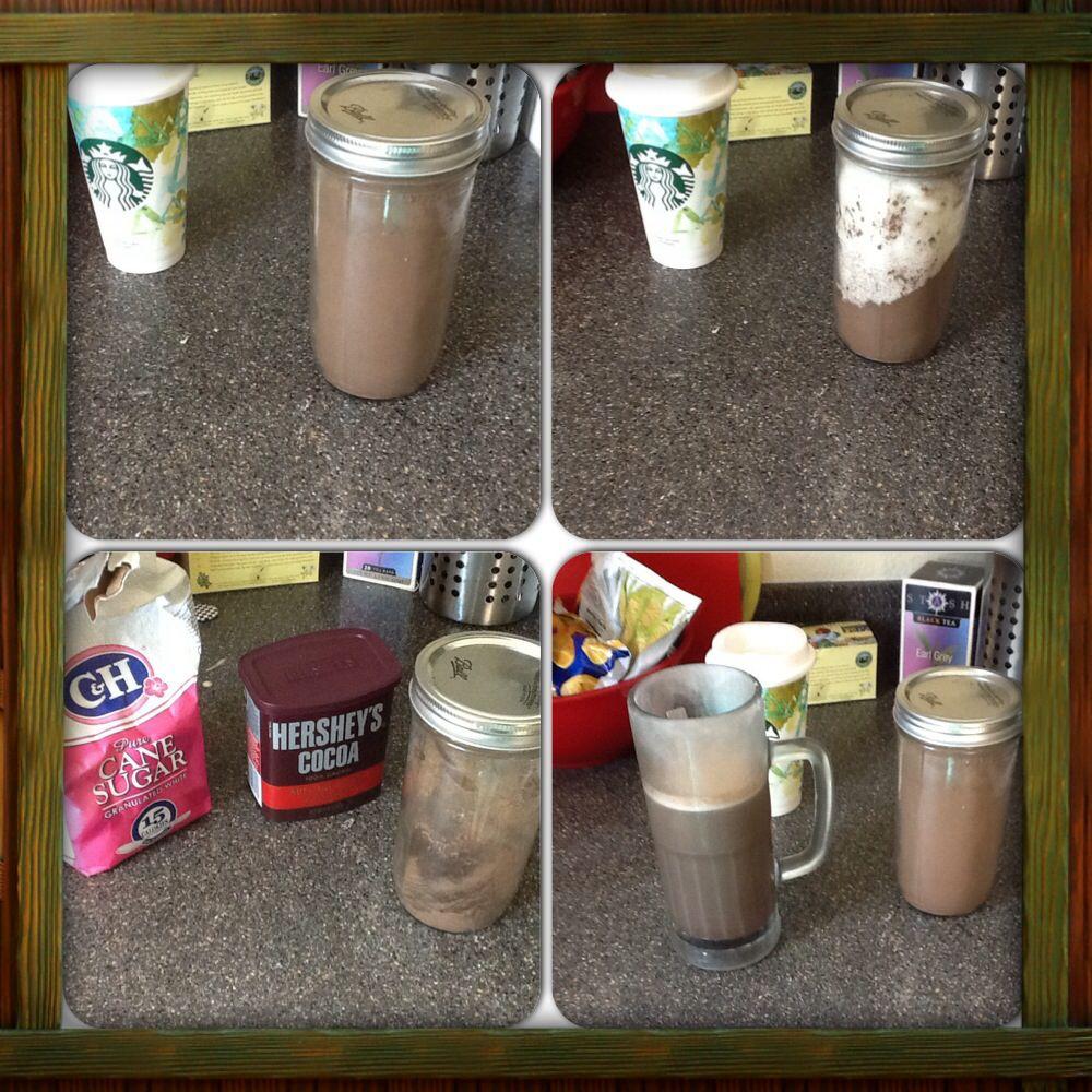 Homemade mocha powder recipe two cups coco powder to two