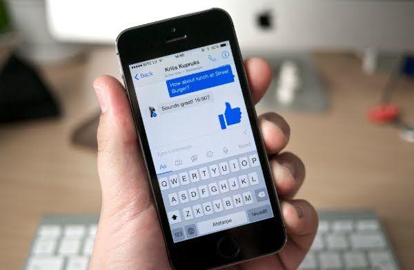 بالصور فيسبوك تختبر ميزة جديدة على مسنجر Facebook Messenger Delete Facebook Facebook App
