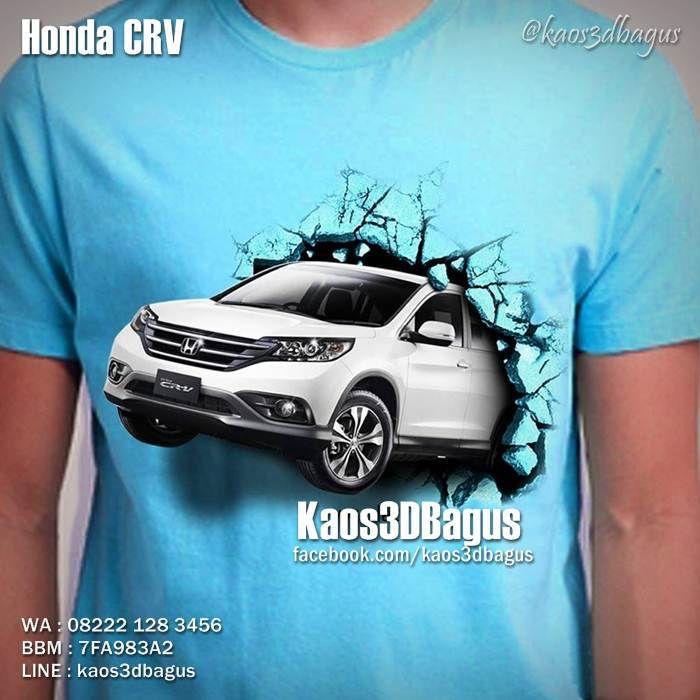 Kaos Mobil Kaos Gambar Mobil Kaos Klub Mobil Honda Crv Cool T Shirts Classic Cars