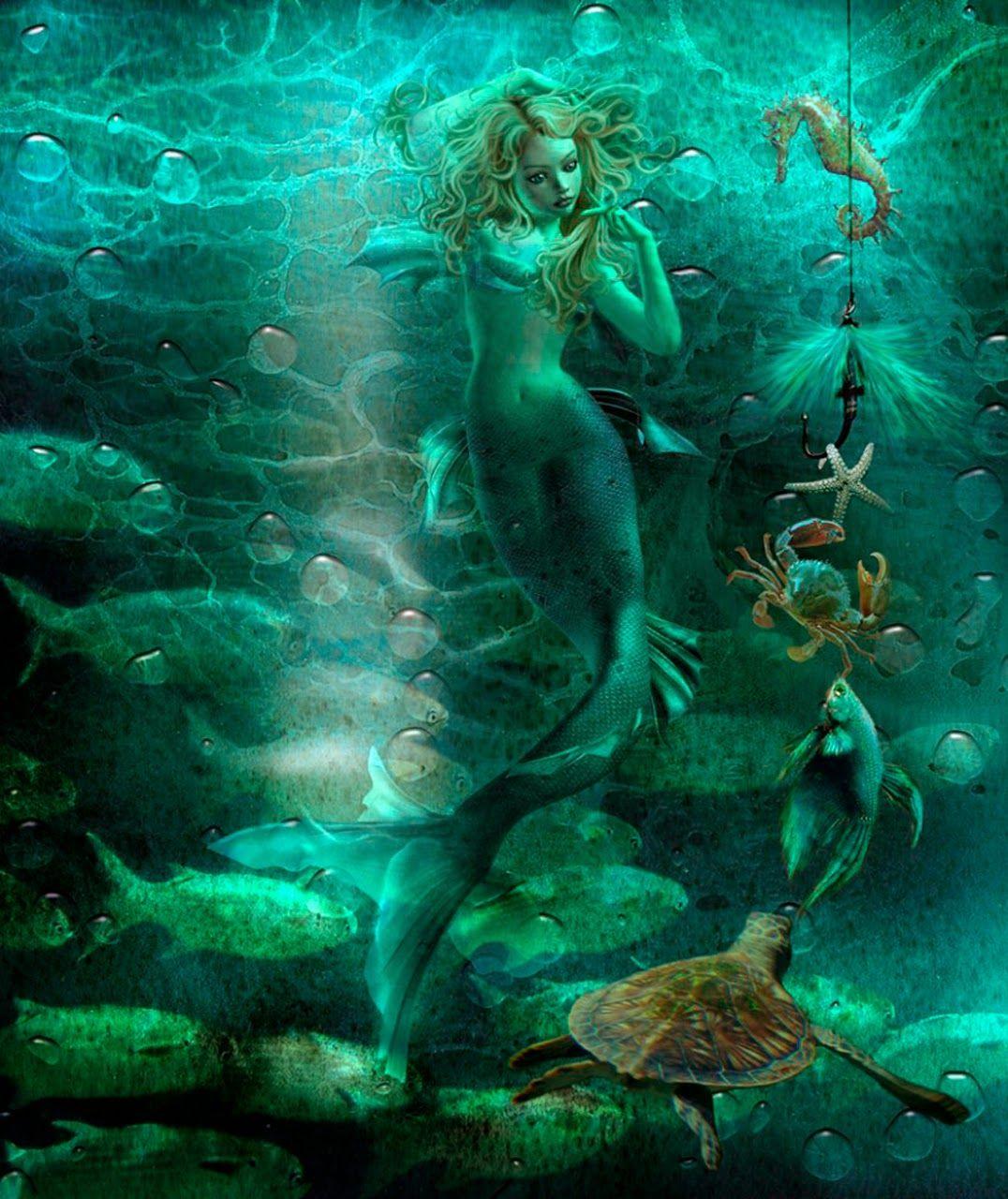 шейки матки русалка у затонувшего корабля фото растение выполняет только