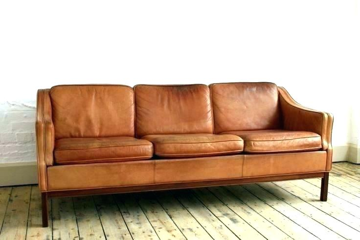 Tan Leather Sofa Couch
