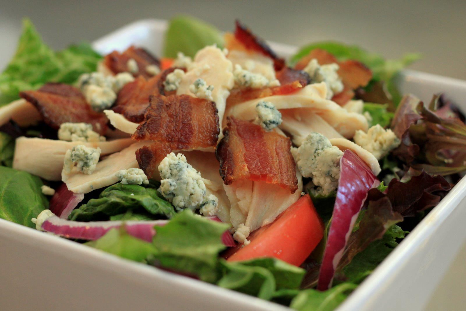 Our Chef's Salad is a wonderful mix of fresh and filling ingredients!
