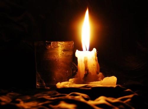 Kerze Romantisch