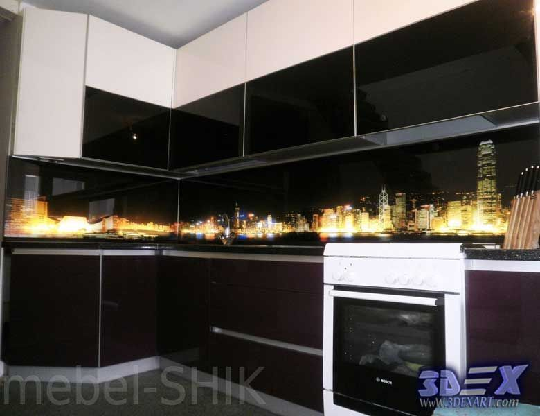 3d panel 3d glass panel 3d backsplash 3d kitchen