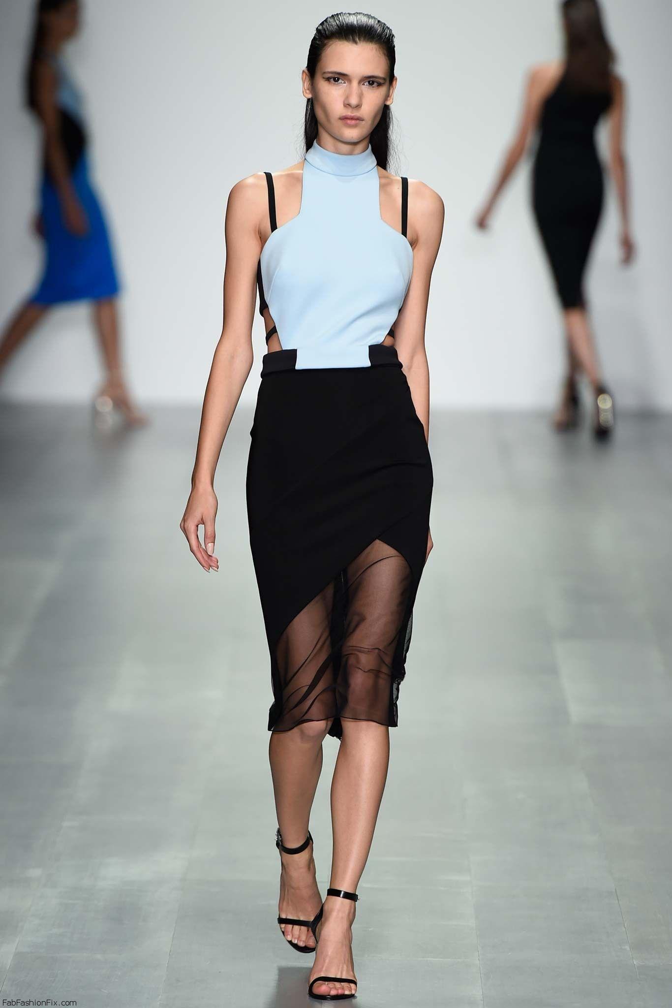 David Koma SpringSummer 2015 Collection – London Fashion Week images