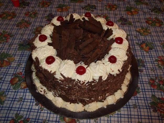Torta selva negra irresistible