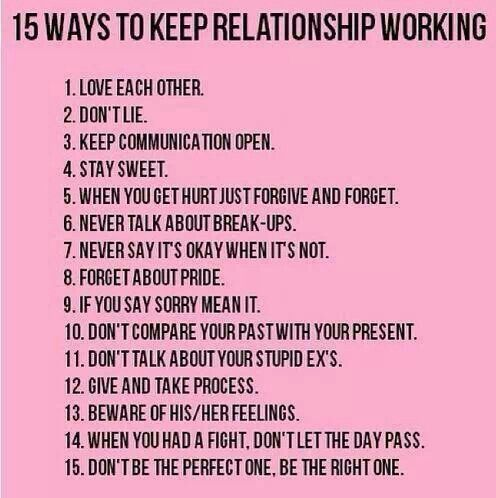 How To Make A Relationship Work  Relationships Advice And Goal
