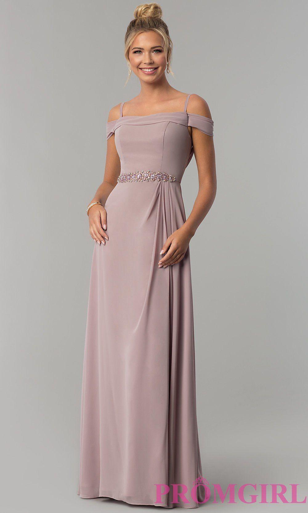 Cowlback offshoulder long prom dress promgirl fancy dresses