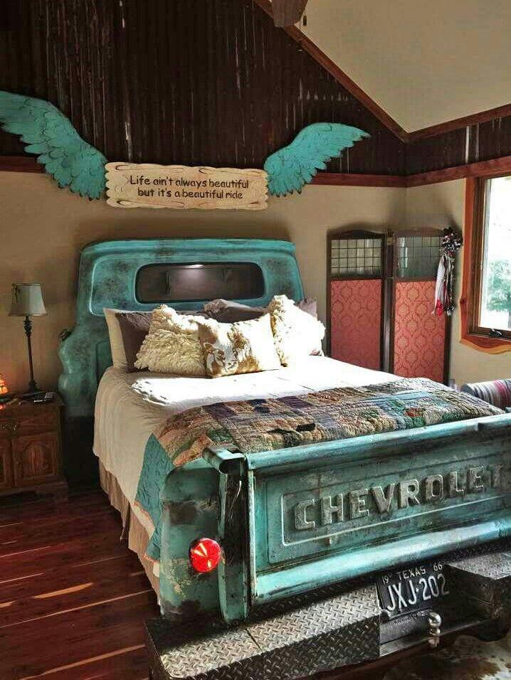 Truck Bed Bedroom diy, Home bedroom