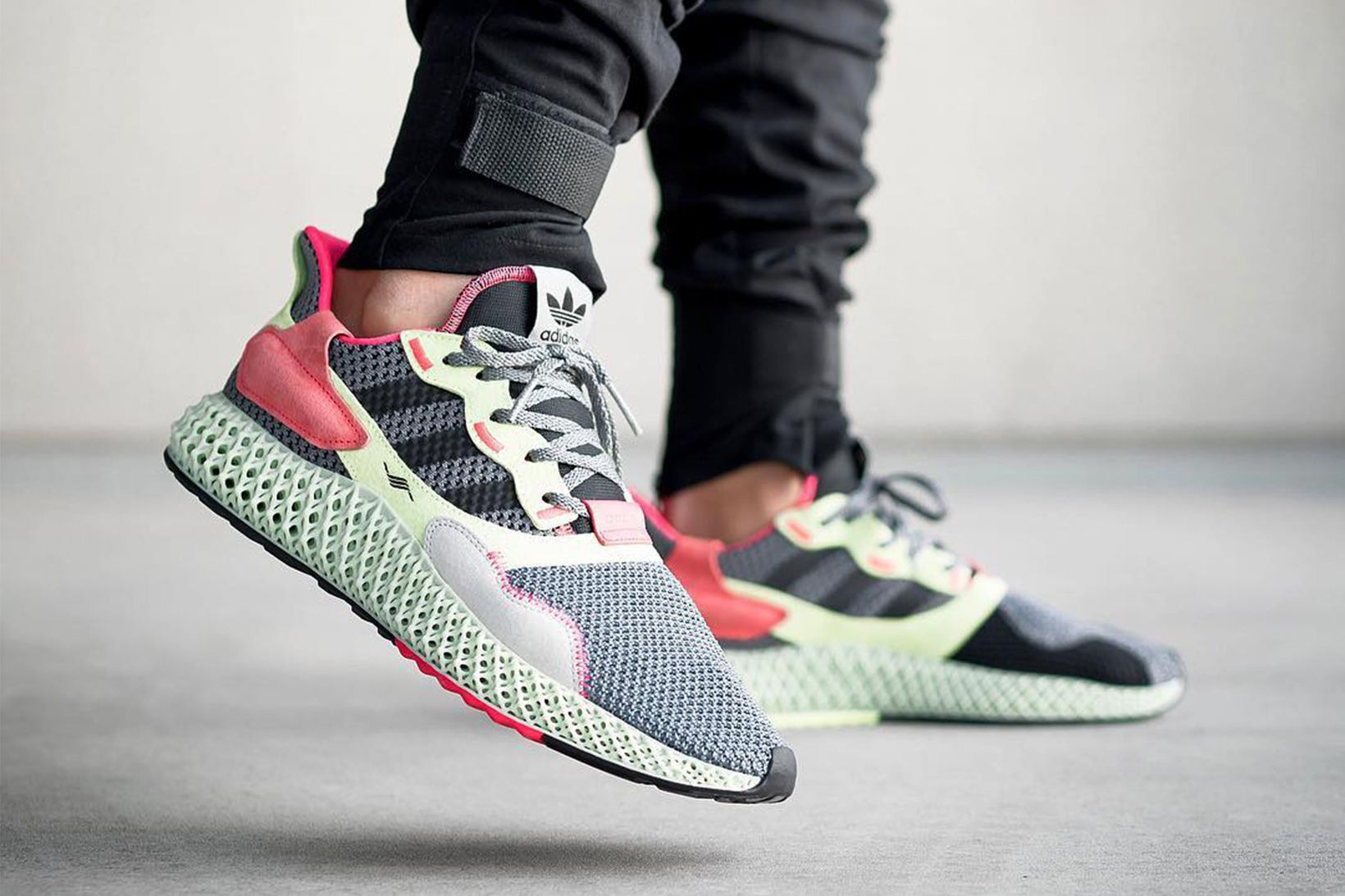 quality design 1c214 dab45 adidas ZX 4000 4D Surface in Two New Colorways #adidas ...