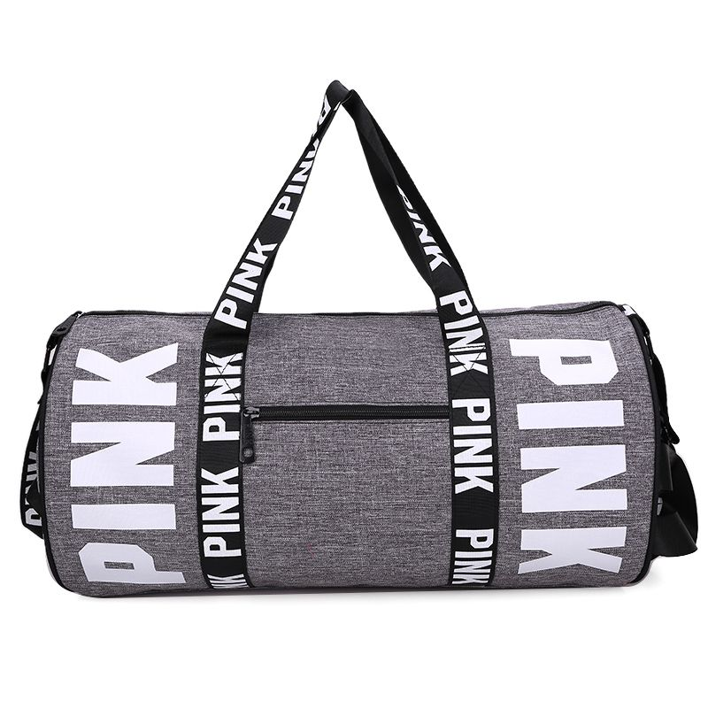 Barrel Travel Sports Fitness Bag For Women Men Gym Bag Hot Training
