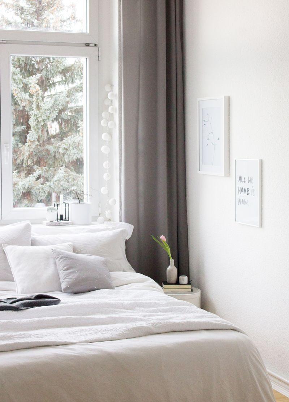 Ein Blick In S Neue Schlafzimmer Schlafzimmer Bett Altbau