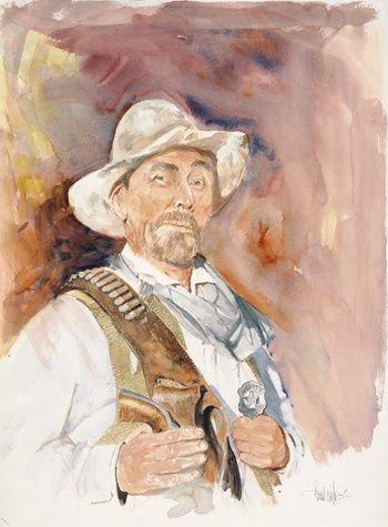 gunsmoke characters festus | Buck Taylor - Ken Curtis - Festus