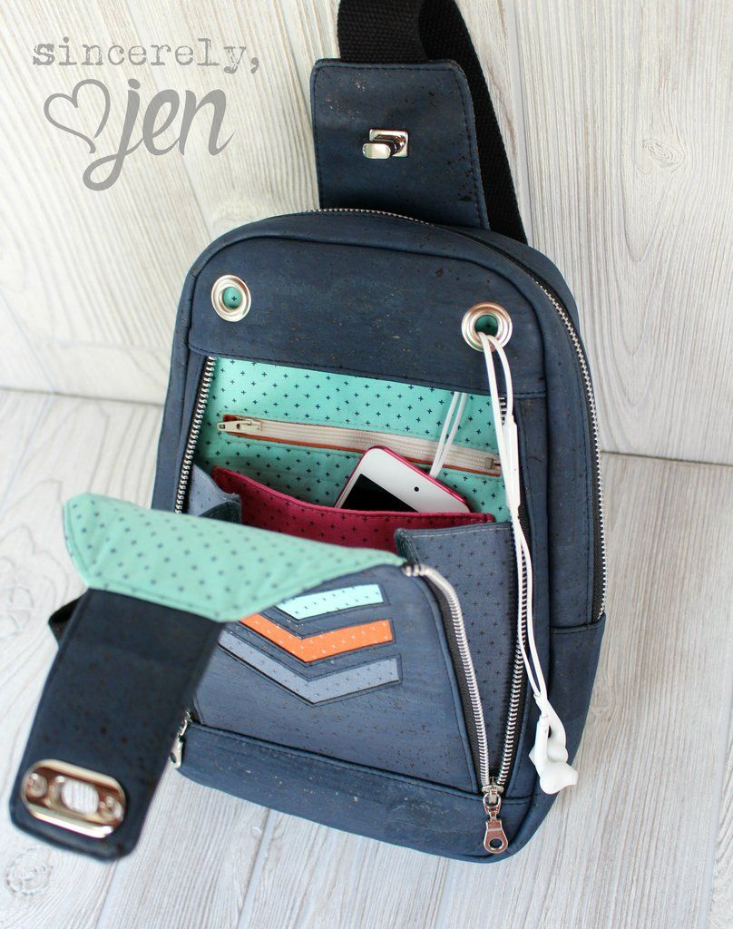 The Speedwell Sling Bag - PDF Sewing Pattern | Taschen ;o ...