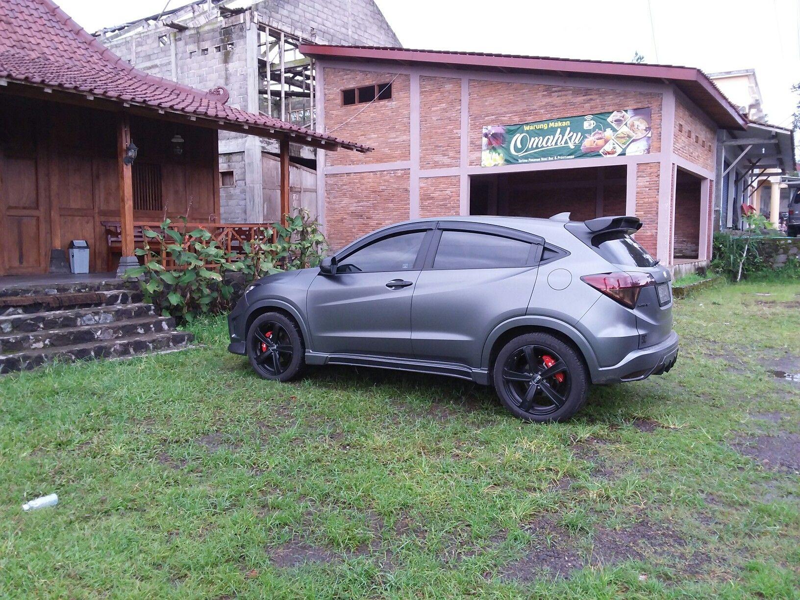 Honda Hr V Prestige Noblesse Bodykit Oracal Matte Charcoal