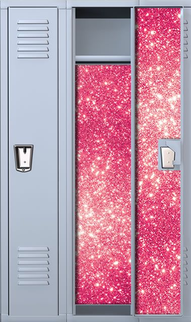 Pink Shire Locker Wallpaper Set