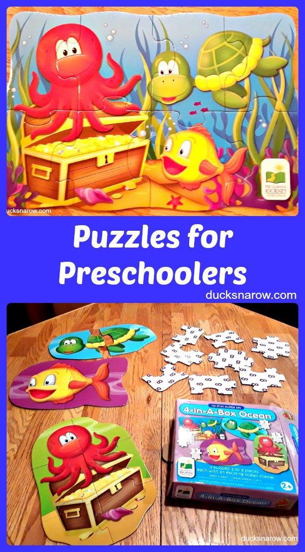 Best Puzzles For Preschoolers To Do Without Frustration