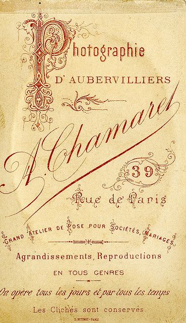 Antique French Perfume Label  http://abitofparis2u.blogspot.com/