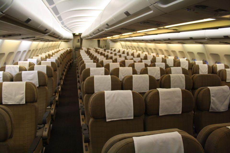 Swiss a340 coach cabin in 2020 airline interiors