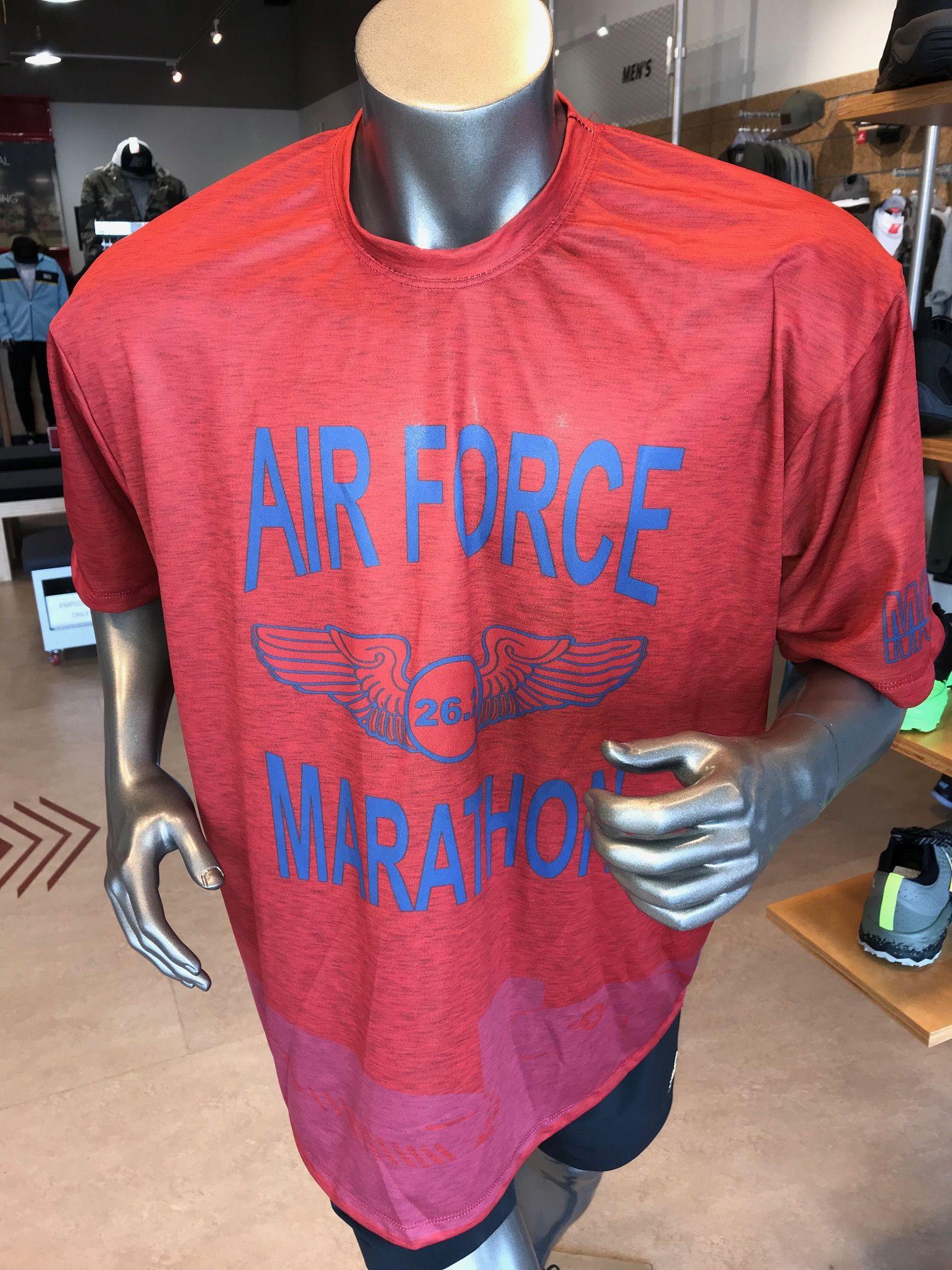 2018 Air Force Marathon full marathon shirt. 2018 Air