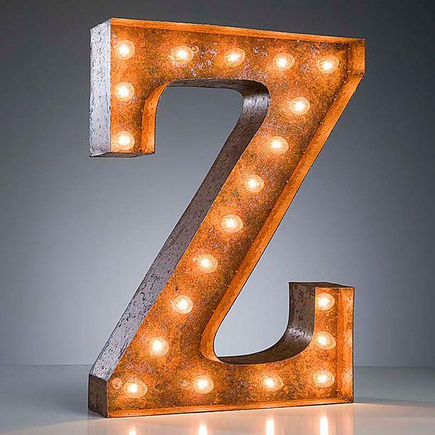 Z letter light