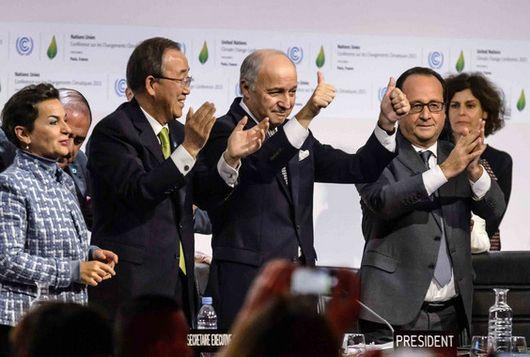 Para hacerse efectivo, el Acuerdo de París que se aprobó el pasado 12 de diciembre de 2015 en la capital francesa debía de ser ratificado por 55 países que en total sumaran el 55% de las emisiones de gases de efecto invernadero a nivel mundial. Ayer