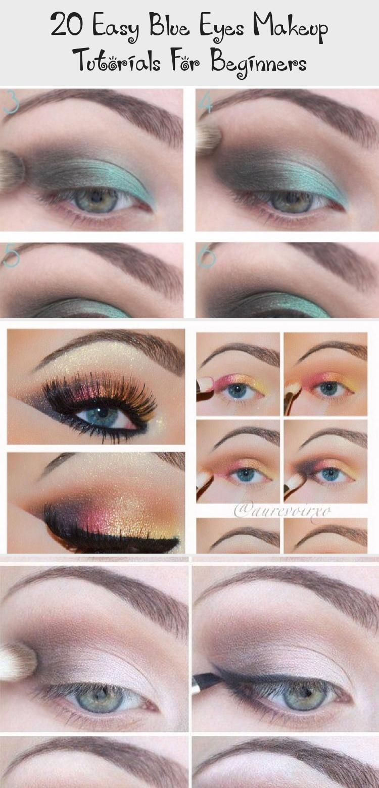 20 Easy Blue Eyes Makeup Tutorials For Beginners Smoky