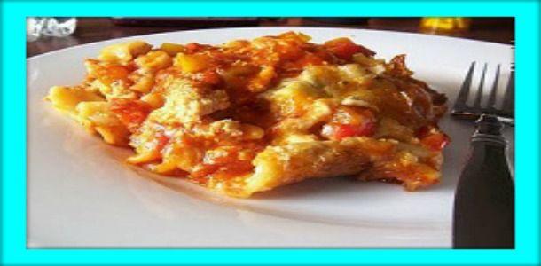 Buffalo Chicken Lasagna |