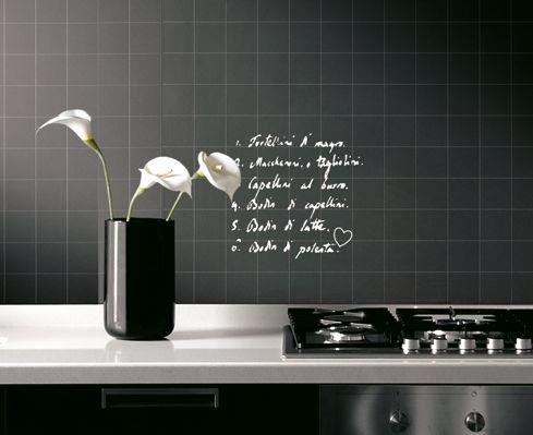 Idee per la tua cucina con la vernice effetto lavagna case cucina