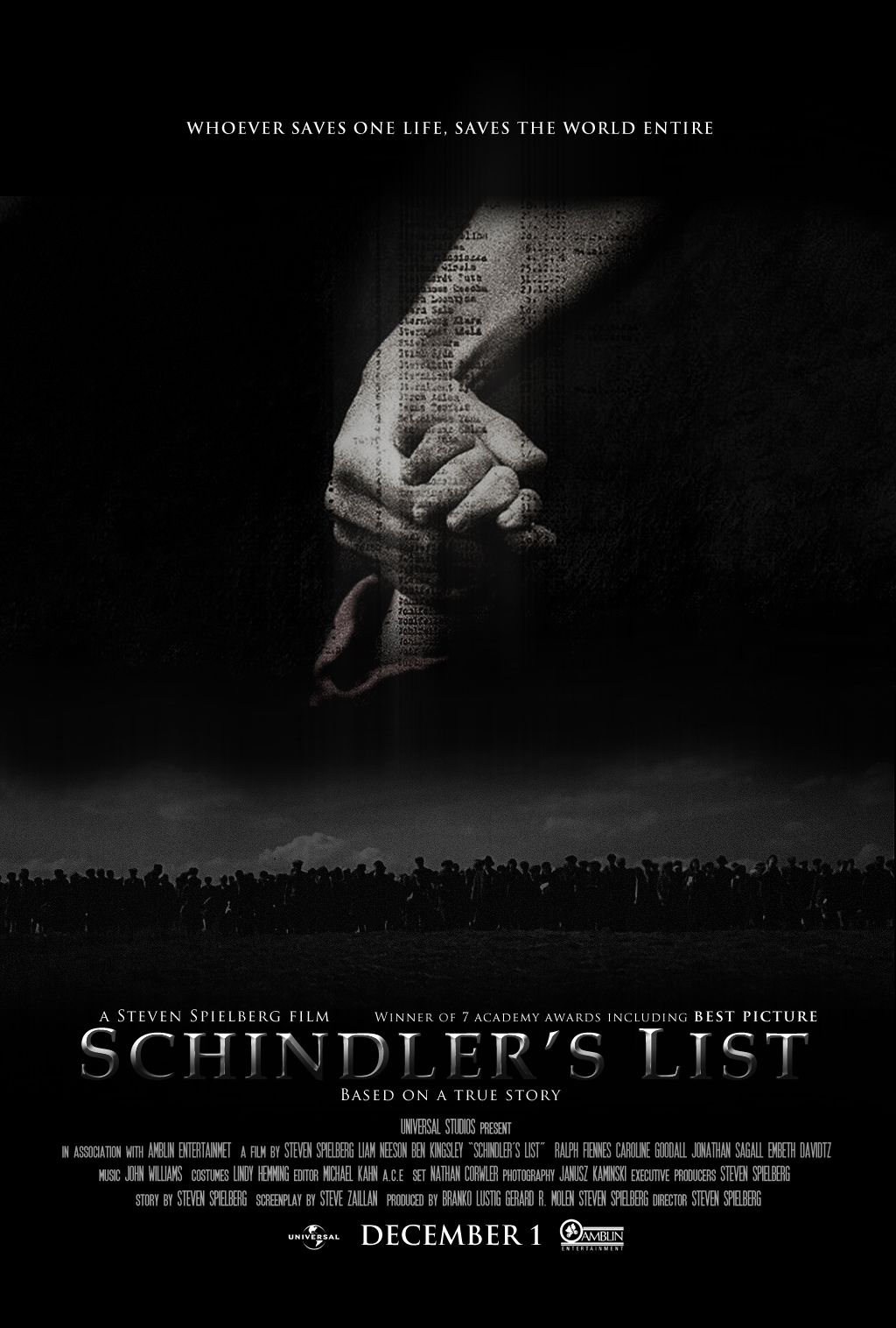 images about schindlers list for english