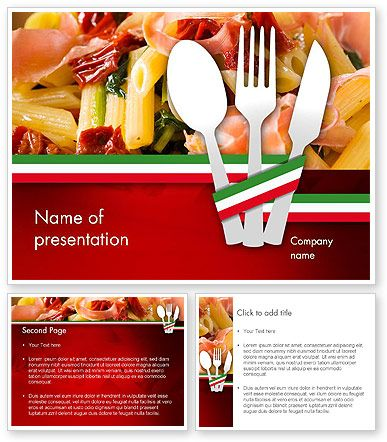 http://www.poweredtemplate/11650/0/index.html italian cuisine, Modern powerpoint