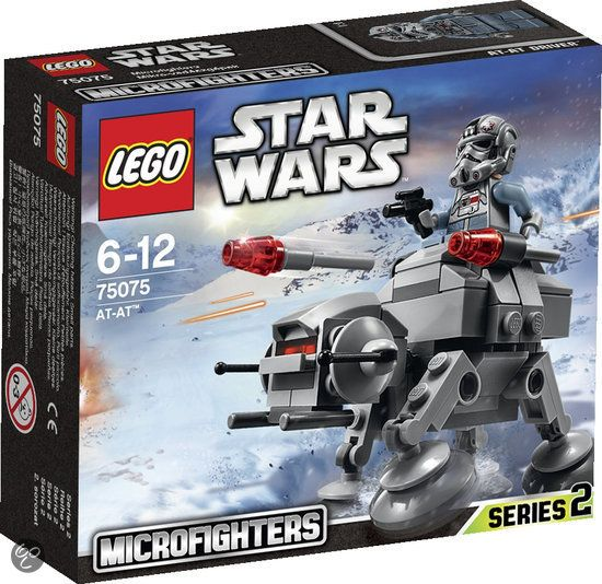 Bol Lego Star Wars At At Microfighter 75075lego Speelgoed